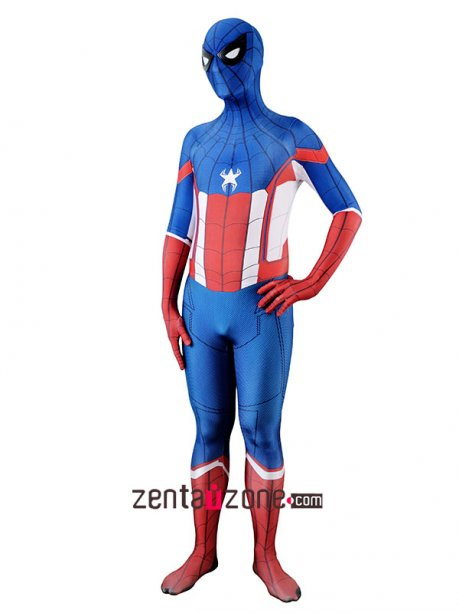 Custom Printed Homecoming Captain Lycra Zentai