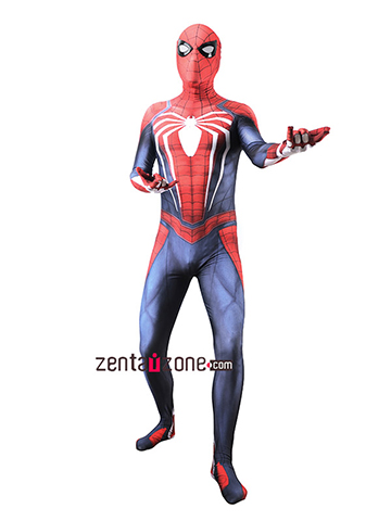 Custom Printed PS4 Spiderman Zentai