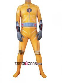 Authentic Reverse Flash Lycra Zentai Costume