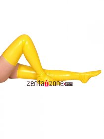 Yellow PVC Stockings
