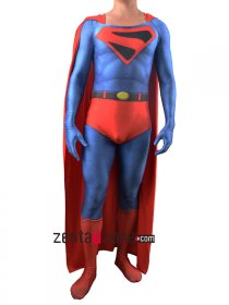 UK Superman Lycra Zentai Costume