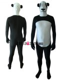 Spandex Lycra Panda Animal Zentai Suit