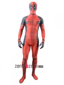 Movie Deadpool Spandex Lycra Zentai Costume