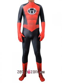 Custom Printed Red Lantern Lycra Costume