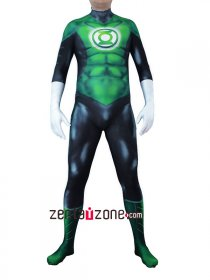 Custom Printed Green Lantern Costume