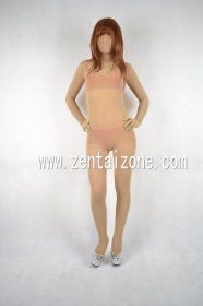 Mesh Flesh Skin Color Full Bodysuit Zentai