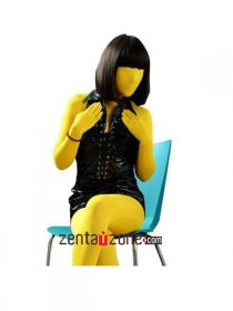 Yellow Modal Suit Zentai Catsuit