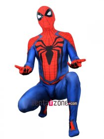 Custom Printed Black Insomniac Spiderman Zentai Costume