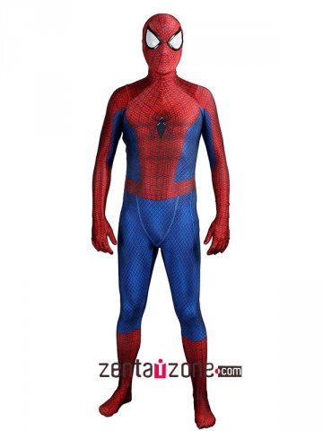 Custom Printed Spandex Lycra Comic TASM 2 Suit