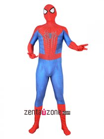 Custom Printed Amazing Spiderman 2 Zentai Costume