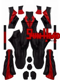Custom Printed Red New 52 Nightwing Zentai Costume