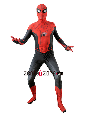 Custom Printed Far From Home Spiderman Zentai Suit [40191]