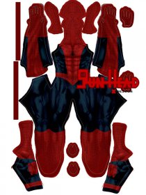 Custom Printed Astonishing Spiderman Zentai