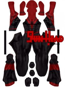 Custom Printed Spider-Assassin Zentai Costume