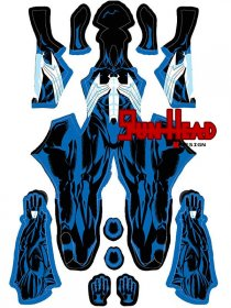 Custom Printed Mark Bagley Venom Zentai Costume