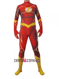 Lycra The Flash Authentic Zentai Costume