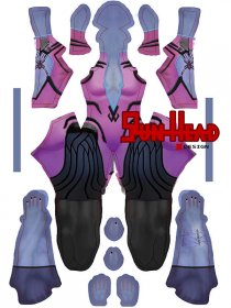 Custom Printed Widowmaker Zentai Costume