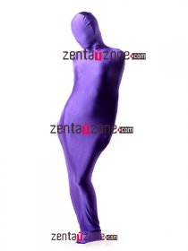 Purple Lycra Spandex Sleeping Bag