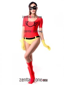 Hot Lycra Superhero Jesse Chambers Costume