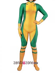 Authentic Rogue X-men Hero Lycra Costume