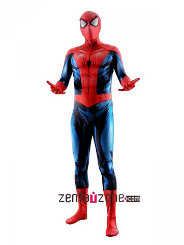 Custom Printed Bagley's Ultimate Spiderman Costume