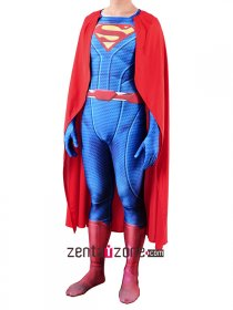 Superman Lycra Zentai Costume V3