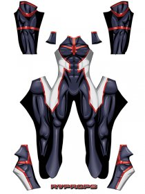 Custom Printed Young Almight RV 2 Zentai Costume