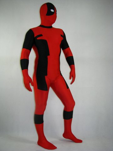 Spandex Lycra Deadpool Costume