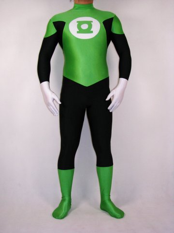reviews spandex green lantern costume zentai 20516. Black Bedroom Furniture Sets. Home Design Ideas