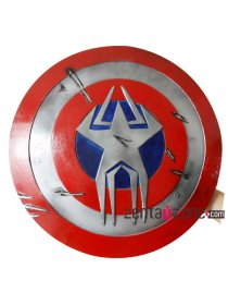 Hand-made Captain America Cosplay Prop Shield