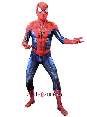 Custom Printed New Bagley's Ultimate Spiderman Costume [30517]