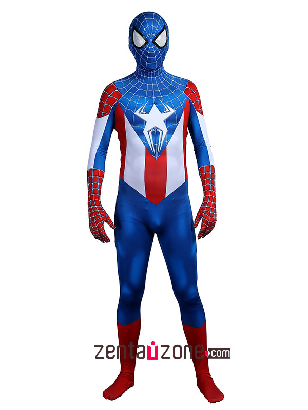 spiderman captain america