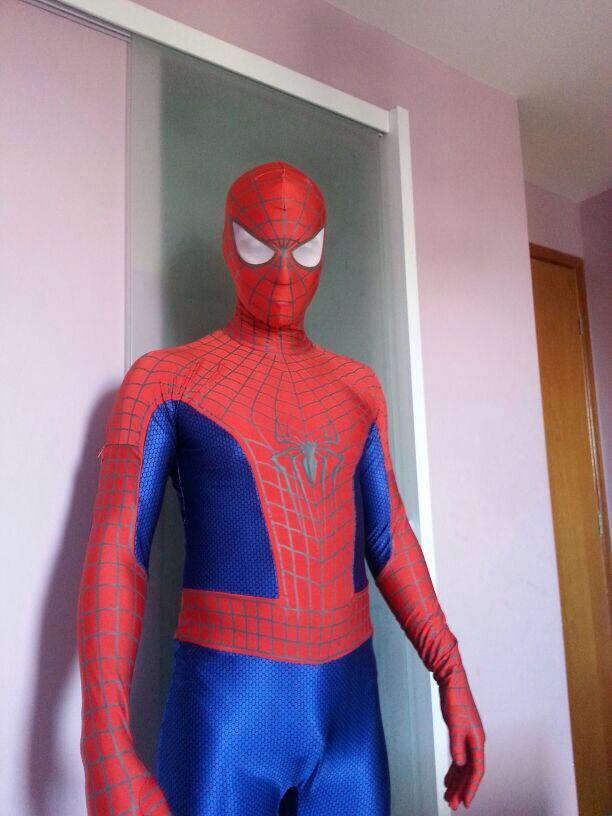 Reviews New 3-D Spandex Lycra Amazing Spiderman 2 Zentai Costume [30281] - $75.00  Buy zentai spandex & Reviews: New 3-D Spandex Lycra Amazing Spiderman 2 Zentai Costume ...