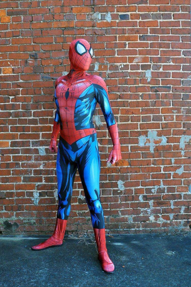 Reviews Custom Printed Bagleyu0027s Ultimate Spiderman Costume [30442] - $65.00  Buy zentai spandex & Reviews: Custom Printed Bagleyu0027s Ultimate Spiderman Costume [30442 ...