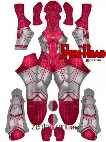 Custom Printed MCU Spinneret Far From Home Zentai