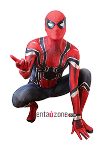 Custom Printed Iron Spider-MCU Zentai Costume