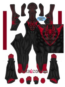 Custom Printed Miles Spidey Zentai Suit