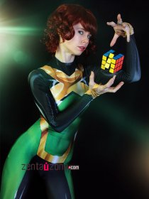 Custom Printed Jean Grey X-men Zentai Costume