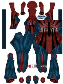Custom Printed Spider-Girl Zentai Costume