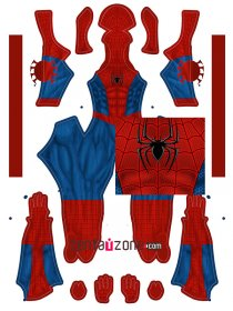 Custom Printed Ultimate Spiderman Zentai Costume