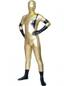 Super Hero Shiny Metallic Zentai Full Body Suit