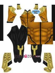 Custom Printed Aqualad Zentai Costume