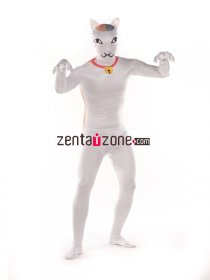 Cool Cat Print Animal Zentai Suit